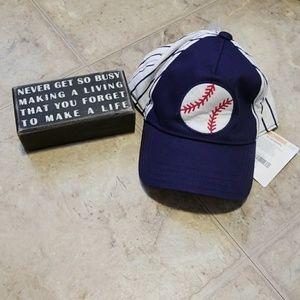 NWT Baseball Hat